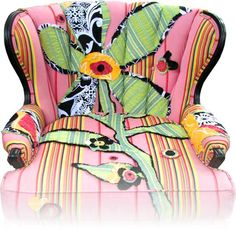 a new goal for life - get Shawna to design me my own Happy Chair =) - http://www.shawnarobinson.com/