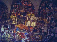 This piece is about the mexican revolution and i like how much is going on, i think its intresting