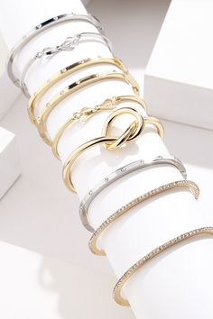 Holiday Gift Idea: Stackable bracelets under $50