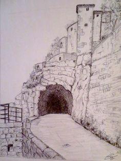Dessins et peintures de Constantine enregistré par adel Hafsi