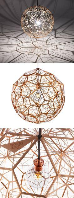 Lampe Etch Web par Tom Dixon