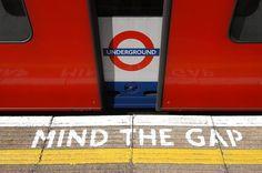 Mind the Gap.Mind the Gap.Mind the Gap.Mind the Gap. London Eye, London Street, Mind The Gap, Piccadilly Circus, Trafalgar Square, London Transport, London Travel, Public Transport, Trains