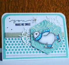 MFT Polar bear pals stamp set