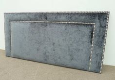Custom Upholstered headboards With Blue