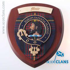 Muir Clan Crest Plaq