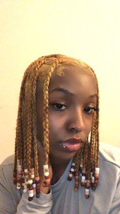 Black Girl Braided Hairstyles, Black Girl Braids, Braids For Black Hair, Girls Braids, Curly Hair Styles, Natural Hair Styles, Dyed Natural Hair, Natural Hair Black Girls, Baddie Hairstyles