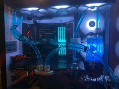 PC Watercooling Water Cooling, Internet, Neon Signs, Community