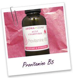 La provitamine B5, aussi connue sous le nom de panthénol, est un actif très efficace aussi bien dans les soins capillaires, pour son action fortifiante et embellissante, que sur la peau, pour ses propriétés réparatrices et apaisantes.
