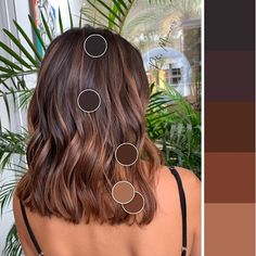 color ideas ideas 50 year old woman ideas app ideas medium ideas concert ideas wedding guests hairstyle for ideas bangs ideas Brown Hair Balayage, Brown Blonde Hair, Hair Color Balayage, Brunette Hair, Hair Highlights, Short Balayage, Medium Hair Styles, Curly Hair Styles, Medium Curly