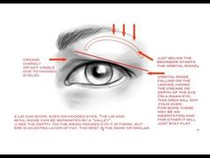 How to apply makeup on hooded eyelids