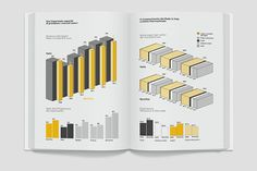 Economy infographics on Behance