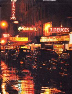 New York Jazz Clubs  - Jazz Maps of New York City - Jazz History New York Orange Aesthetic, Night Aesthetic, City Aesthetic, Aesthetic Colors, Aesthetic Pictures, Aesthetic Dark, Photography New York, New York City Map, Wallpaper Quotes