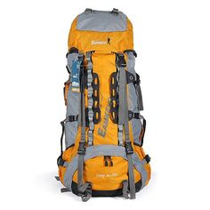 Sale 12% (142.28$) - 70L 10 EAMKEVC Outdoor Hiking Camping  Mountaineering Bags/Backpack