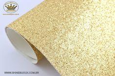 Manta LONITA dourada Gliterizada