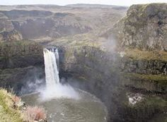 Palouse Falls adds splashy contrast to E. Washington scablands | Outdoors | The Seattle Times