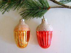 Vintage Mercury Glass Christmas Tree by RollingHillsVintage