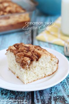 Cinnamon Swirl Coffee Cake on sweettreatsmore.com #breakfast #cake #recipe