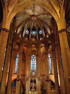 Inside Bari Goti Cathedral