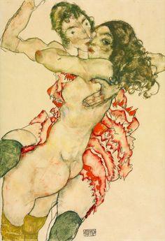 Egon Schiele (Jun 12, 1890 - Oct 31, 1918)