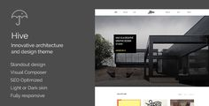 awesome Hive - Architecture/Creative Agency Theme (Creative)