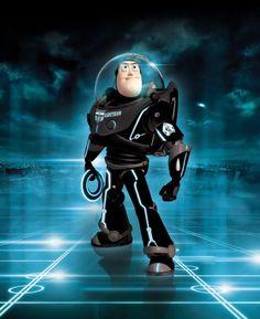 Tron Mash-Up #pixar
