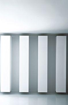 Modern, suspended cabinet by Piero Lissoni for Porro White Furniture, Modern Furniture, Furniture Design, Storage Shelves, Shelving, Minimal Art, Etagere Design, Build A Closet, Contemporary Interior