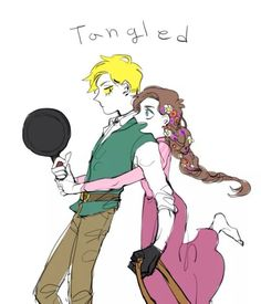 Art by Byungshinan | Mabill | A Tangled Crossover