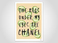 Kunstdruck Poster — Chanel von banum auf Etsy