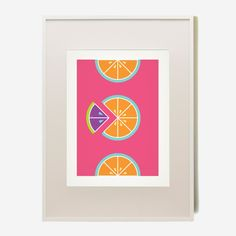 B+C Large Citrus Prints