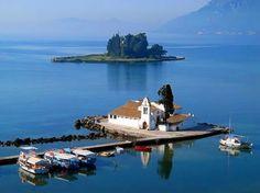 Panagia Vlaxerna Church, Corfu, Greece