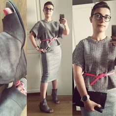 A small but proud bird в Instagram: «Touch of shocking #pink Top #iro, skirt #hm, shoes #as98, clutch #hüftgold #look #lookbook #currentlywearing #fashion #me #instafashion #fashionpost #outfitpost #ootd #lookoftheday #style #grey #whatiweartoday #styleiswhat #midi»