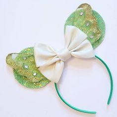 Tinkerbell Ears! #faithtrustandpixiedust #sparkly #mickeyears #moveoverjojo