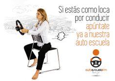 Cartel/Anuncio para la Autoescuela FM de Lopera (Jaén)