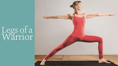Foundation of a Warrior | Yoga International - great article on leg positioning in warriors