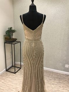 8bf4fc83f23b New Sexy Mermaid Prom Dresses 2018 Spaghetti Strap Sleeveless Floor Length  Beading Sequins Tulle Long Evening Dress Vstido longo-in Evening Dresses  from ...