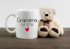Pregnancy Announcement Grandma Grandmother - Pregnancy Announcement Idea - Pregnancy Reveal to Grandparents - Birth Announcement Girl Boy