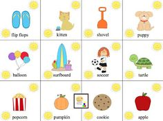 Let's Talk Speech-Language Pathology: Multisyllabic Summer Suns