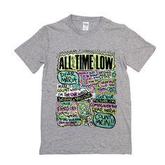 All Time Low Dear Maria T Shirt