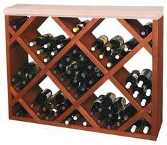 Weinbrett champagne einem r ttelpult nachempfundenes brett f r 24 flaschen weinregale in - Flaschenregal selber bauen stein ...