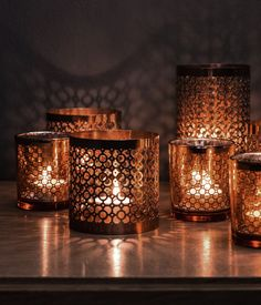 Punched Metal Candle Holders.jpg