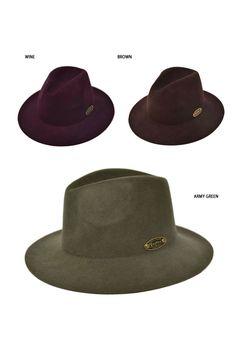 Classic Urban Felt Fedora Hat