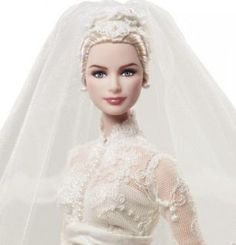 New Barbie Dolls | Barbie Doll Grace Kelly The Bride Silkstone Doll Gold Label 2011 New