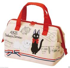 Product Name : Kiki's Delivery Service Cooler Lunch Bag M Manufacture :Skater Condition : Brand New Include : Kiki's Delivery Service Cooler Lunch Bag M x 1 Size About 220x115x160mm