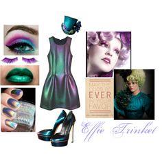 """""""Effie Trinket"""" by birdofparadise25 on Polyvore"""