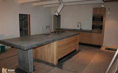 Foto: Keuken, met massief houten kastdeuren passend bij Ikea keuken.. Geplaatst door Maura_l op Welke.nl