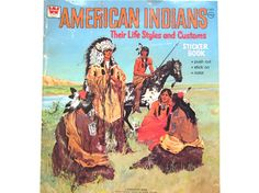 American Indians Their Life Styles and by lizandjaybooksnmore, $8.00