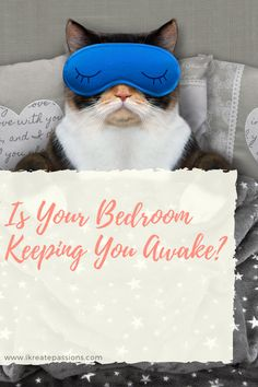 Is Your Bedroom Keeping You Awake? - iKreate Passions Messy Bedroom, Thick Curtains, Hvac Repair, Blackout Blinds, Trouble Sleeping, How To Get Sleep, Sound Proofing, Green And Grey, Helpful Hints