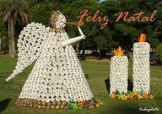 Olhares.com Fotografia   �jo�o altair medeiros   Reciclagem Pet Natalinas