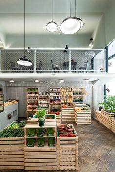 LGV – Vegetable shop by BWM Architekten | Photo: @ Christoph Panzer