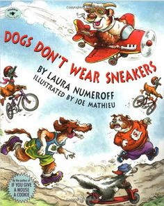 Classroom Freebies: Dogs Don't Wear Sneakers - Visualizing